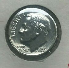 1955 Roosevelt Dime Silver Proof