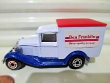 Matchbox VERY RARE MB38 1981 BEN FRANKLIN Model A Ford Van C9 Mint in Open Box