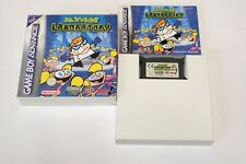 Dexter's Laboratory Nintendo Gameboy Advance in OVP