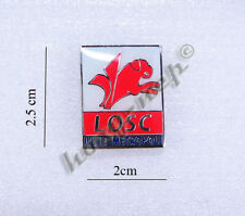 LOSC Lille Football Soccer Metal Enamel Pin Badge brooch France French League