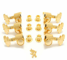 Grover 109G  Super Rotomatic Tuning Machines 3 +3 Gold Finish