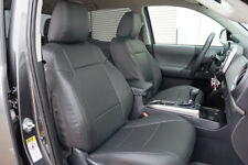 TOYOTA TACOMA SPORT TRD 09-15 CHARCOAL LEATHER-LIKE CUSTOM MADE FRONT SEATCOVER