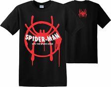 Spider Man Into the Spider Verse T-Shirt Marvel Christmas Xmas Venom Men's Kids