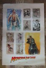 INDIANA JONES KINGDOM OF THE CRYSTAL SKULL art poster 13x20