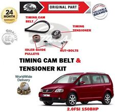POUR VW TOURAN AXW 2.0 FSI 150bhp MPV 03-11/2005 TENDEUR COURROIE DISTRIBUTION