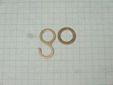 Kettenhaken und Ring für Uhrkette Kuckucksuhr Kuckucksuhren