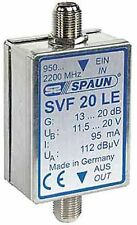 Spaun Electronic SVF 20 LE Inline-Verstärker, Sat-ZF-Verstärker, 1Ein-, 1Ausgang