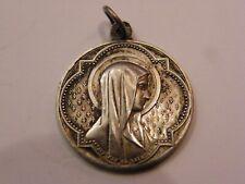 Médaille en Argent Massif 28 Juillet 1891 Marie
