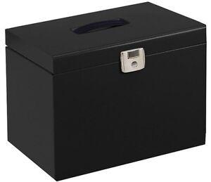 Black Metal File Box + 5 Files (Pierre Henry)