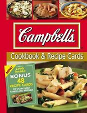 Campbell's Cookbook and Recipe Cards (2010, Spiral)