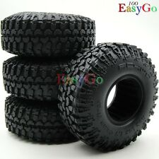 "4pcs RC 1/10 114mm RC4WD Crawler Tires Tyre W/ Foam for 1.9"" Beadlock Rims Wheel"