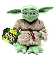 "1990's Kenner Hasbro Star Wars Buddies Yoda Soft 6"" Plush Doll (NEW/NWT)"