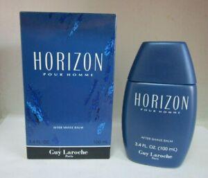 GUY LAROCHE HORIZON POUR HOMME 3.4 oz AFTERSHAVE BALM FOR MEN