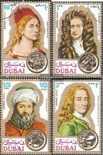 Dubai 397-400 fine used / cancelled 1971 Personalities