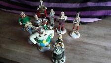 PLASTOY Asterix Lot 10 Figurines avec le chaudron. Astérix, Obelix...