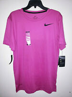 Mens Nike Pro Dri-Fit Short Sleeve T-Shirt Pink/Black New NWT Size Small S