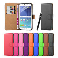 Samsung Galaxy J5 2015 Wallet Leather Flip Book Card Slots Stand View Case Cover