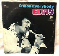 """ELVIS PRESLEY -""""C'mon Everybody"""" (Camden CAS-2518)  Vinyl LP Record 1971 VG+"""