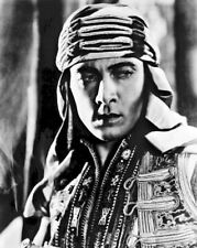 """New Photo: Silent Screen Star Rudolph Valentino in """"Son of the Sheik"""" - 6 Sizes!"""