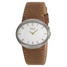 Runde Damen-Armbanduhren mit Mineralglas für Erwachsene