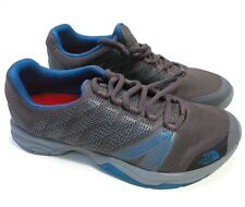 $99 The North Face Men's Litewave Ampere II Size 9 Grey/Blue NEW