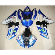 Blue ABS Plastic Fairing Bodywork Set For YAMAHA YZFR6 YZF-R6 2008-2012 09 10 11