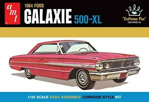 AMT 1964 Ford Galaxie Craftsman Plus Series 1:25 scale model car kit 1261