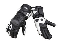 MBSmoto MBG04 Sports Leather Knuckle Protection Motorbike Motorcycle Gloves
