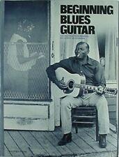 BEGINNING BLUES GUITAR, 1964  BOOK (JERRY SILVERMAN