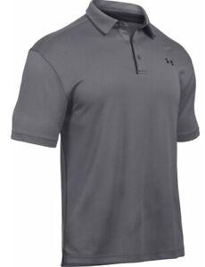 Under Armour Mens UA Tech Polo Golf Shirt 1290140 - New 2021 - Pick Color & Size