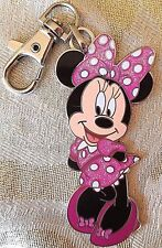"""Disney Minnie Mouse Sparkle Clip-On Charm - Collectible 3"""" Authentic Pin Trading"""