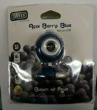 Sweex Açai Berry Azul Cámara Web
