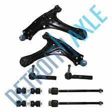 Brand New 8pc Complete Front Lower Control Arm + Ball Joint Suspension Kit