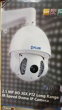 "NEW FLIR 2.1 MP HD 30x PTZ Long Range IR Speed Dome IP Camera, 1/3"" Sony Exmor"
