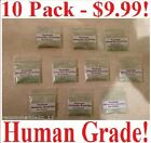 10 HEMOSTATIC POWDER BLOOD STOP 50g MILITARY GRADE WOUND CARE FIRST AID PREPPER