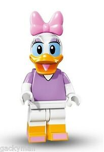 Lego Disney series daisy duck minifigure disney character #9 of 18 w/ checklist