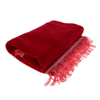 Guzheng/ Zither Dustproof Cover Cloth Musical lnstrument Parts for Home Red