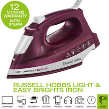 Russell Hobbs 24820 Light and Easy Brights Iron, 2400 W, Mulberry