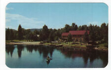 Indian Lake, New York,  Early View of Wilderness Lodge