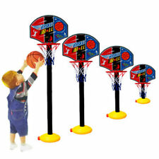 Kids Sports Portable Basketball Toy Set with Stand Ball & Pump Toddler Baby   2N