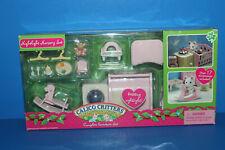 Calico Critters Pink Nightlight Baby Nursery Set in Box