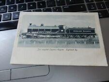 More details for vintage postcard  highland  railway