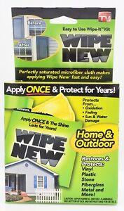 Wipe New - Rustoleum wipe new Home and Outdoor single use wipe-it 5 pack