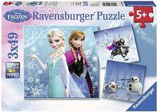 Ravensburger Disney Frozen ~ Winter Adventures 3 x 49 pc 5+
