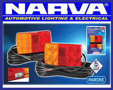 NARVA Submersible Trailer LED Combination Light Lamp Pack Marine Boat 93642TP