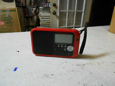 FIRST ALERT AM/FM WEATHER BAND CLOCK RADIO 3-AA batteries or 12volt dc adapter
