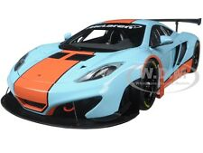 MCLAREN 12C GT3 GULF LIVERY 1/18 DIECAST MODEL CAR BY AUTOART 81343