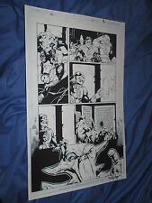 GREEN LANTERN #35 Original Art Page #8 ~Billy Tan/Rob Hunter JLA/MOVIE Kilowog Comic Art