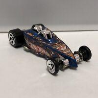 Hot Wheels Blue Tire Fryer 1:64 Scale Diecast Toy Car Model Mattel