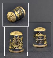MORIKEN JAPAN TCC THIMBLE - DAMASCENE